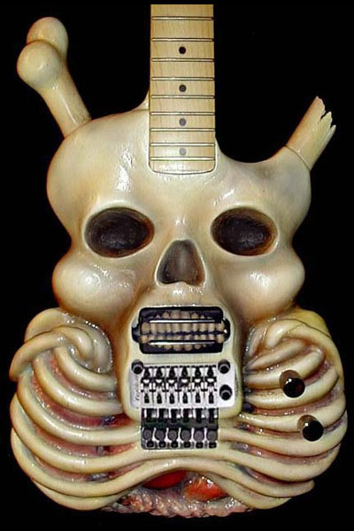 Guitarras muy extrañas