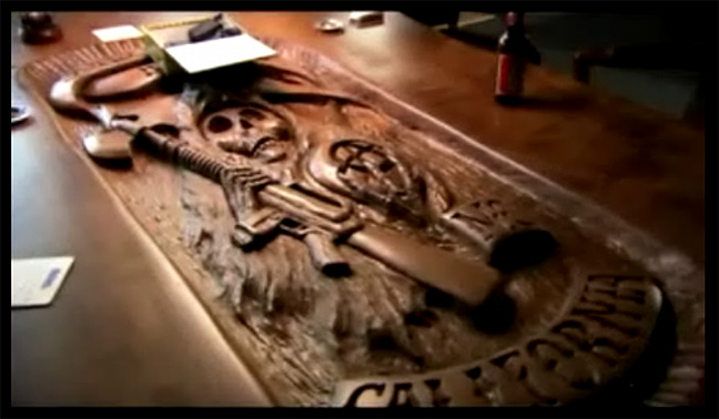 sons of anarchy table Sons of Anarchy sons of anarchy table